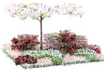 Детский уголок в саду