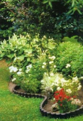 Декоративные заборчики своими руками из цветников и камней